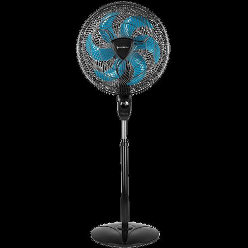 Ventilador de Coluna Cadence, Ventilar Supreme, 40 Cm, Preto e Azul - VTR856 - 220V