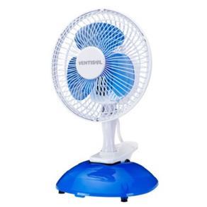 Ventilador de Mesa 20cm Mini Azul/Branco VENTISOL