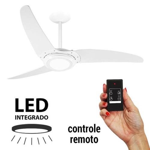 Tudo sobre 'Ventilador de Teto Spirit 303 Branco LED Controle Remoto'