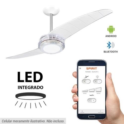 Tudo sobre 'Ventilador de Teto Spirit 203 Cristal LED Bluetooth Controlado por Aplicativo'