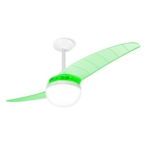 Tudo sobre 'Ventilador de Teto Spirit 202 Verde Neon Lustre Globo'