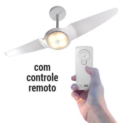 Tudo sobre 'Ventilador de Teto Spirit IC AIR Double LED Branco com Controle Remoto'