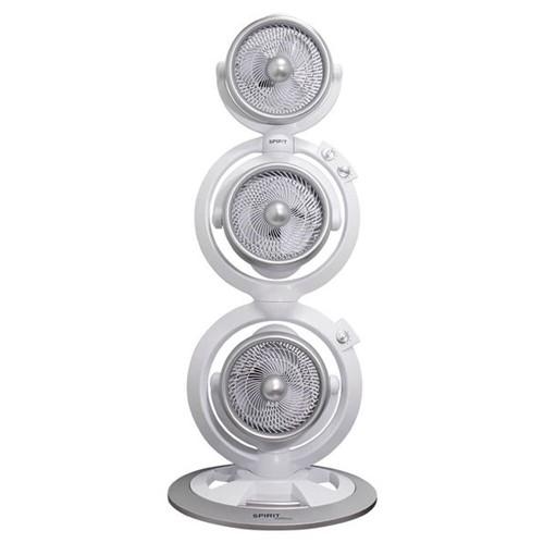 Tudo sobre 'Ventilador Torre Spirit Maxximos Triplo Turbo White Steel'