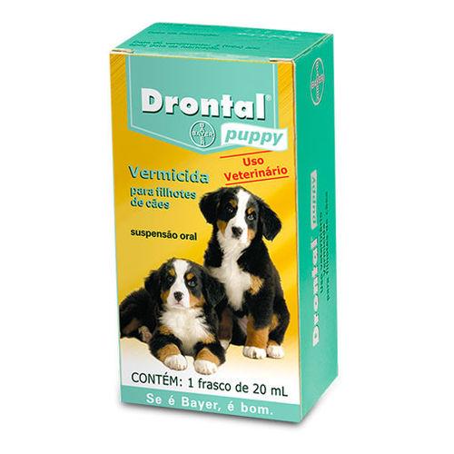 Vermifugo Bayer Drontal Puppy 20 Ml
