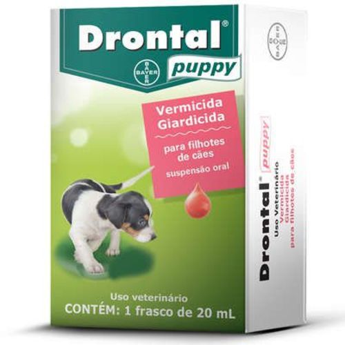 Vermífugo Bayer Drontal Puppy 20 Ml