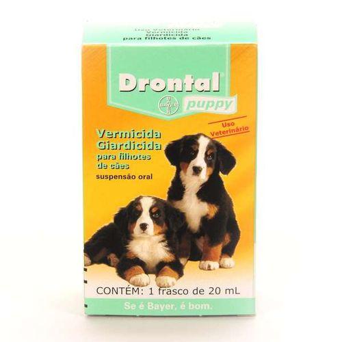 Vermífugo Drontal Puppy - 20 Ml