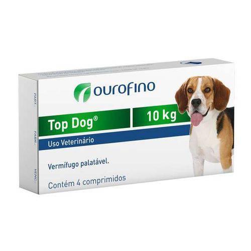 Tudo sobre 'Vermifugo Top Dog para Cães de Até 10kg - 4 Comprimidos'