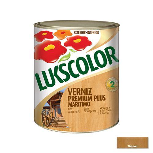 Verniz Acetinado Maritimo Lukscolor 0,9l