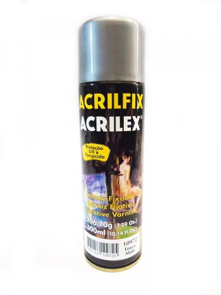 Verniz Acrilfix 210 Gr Fosco Mate Acrilex