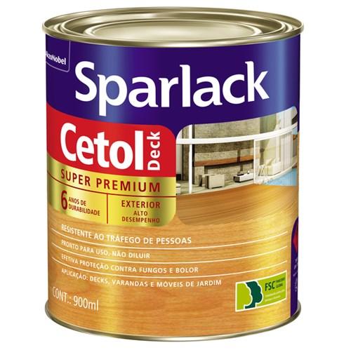 Verniz Cetol Deck Semibrilho Natural 900ml Sparlack