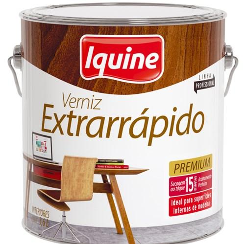 Verniz Extrarrápido Brilhante Imbuia 3,6L Iquine