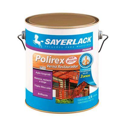 Verniz Polirex Filtro Solar Brilhante 3,6 Litros Mogno
