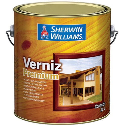 Tudo sobre 'Verniz Premium Brilhante Ipê 3,6L Sherwin Williams'