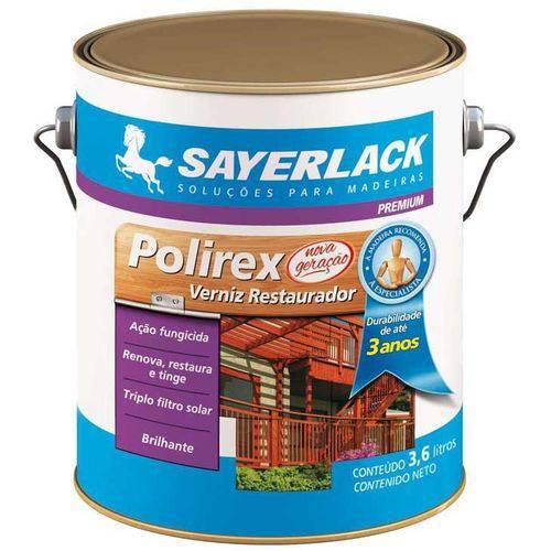 Verniz Sayerlack Restaurador Premium Polirex, Mogno, 900 Ml - SB.2315.2245