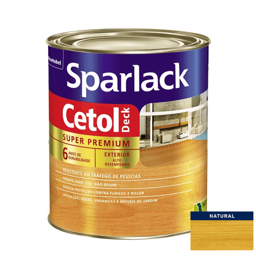 Verniz Semibrilho Natural Cetol Deck Akzo 0,9l