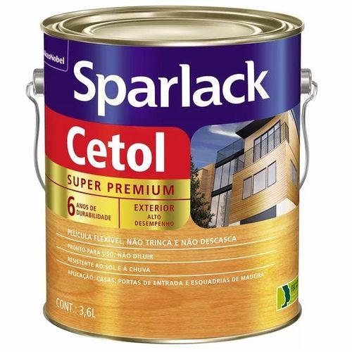 Verniz Sparlack Cetol Mogno Acetinado 3,6lts