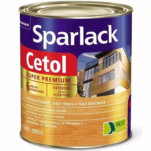 Verniz Sparlack Cetol Mogno Acetinado 900ml