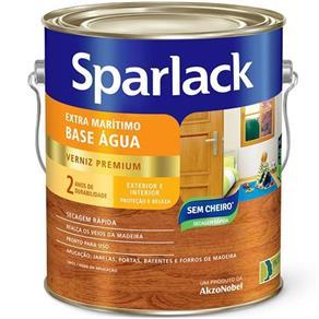 Verniz Sparlack Extra Marítimo Acetinado Base Água para Madeira Natural 900Ml - Sparlack - Verniz Sparlack Extra Marítimo Acetinado Base Água para Mad