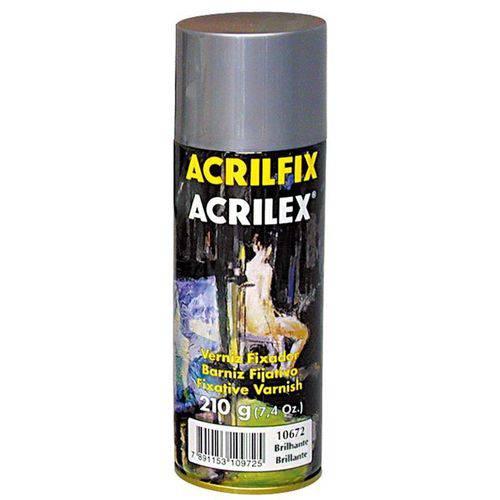 Verniz Spray 210g Acrilfix - 10672 Brilhante Acrilex