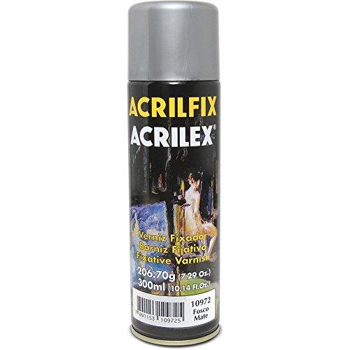 Verniz Spray Fixador Acrilfix Fosco Acrilex 210g