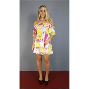 Vestido Lança Perfume Ombro a Ombro V17 - 02VE344300 - M