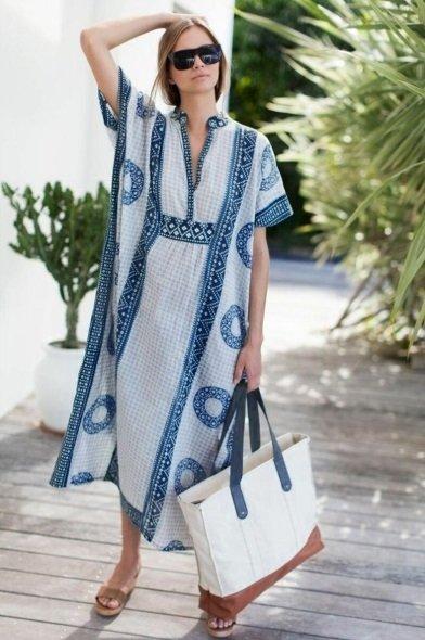 Vestido Longo (Cod. 9129) (Azul, P)