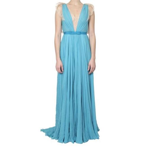 Vestido Longo Jenny Packham Azul