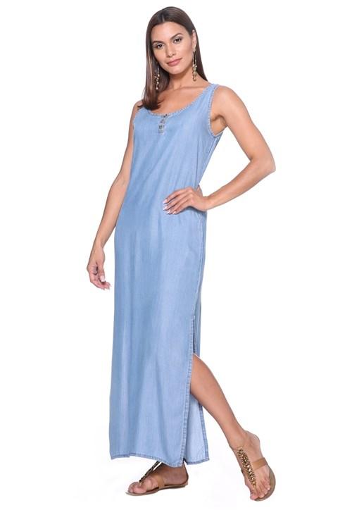 Vestido Longo Lúcia Figueredo Azul