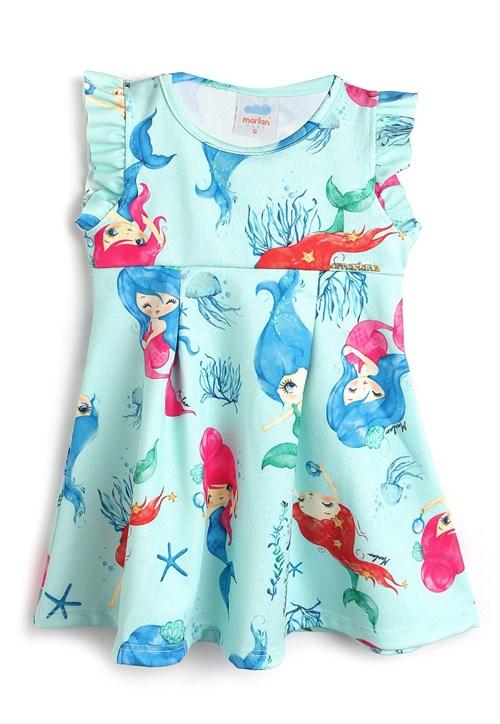 Vestido Marlan Baby Estampa Azul