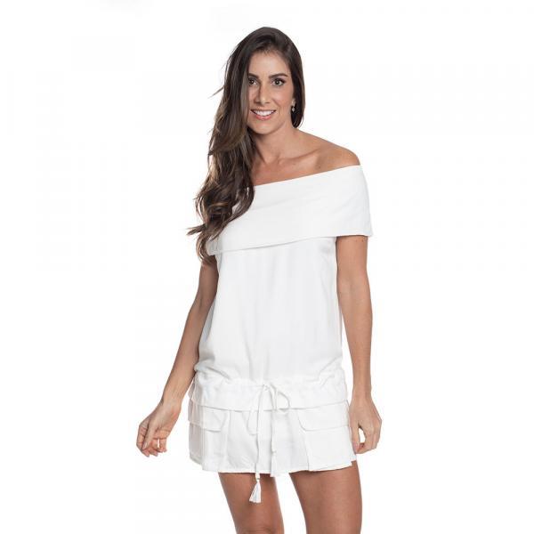 Vestido RNW Ombro a Ombro Branco