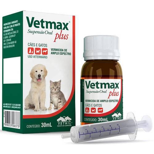 Vetmax Plus Suspensão Oral 30ml