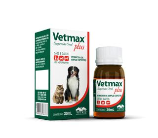 Vetmax Plus - Suspensão Oral 30mL