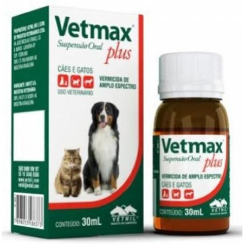 Vetmax Vermífugo Plus Suspensão