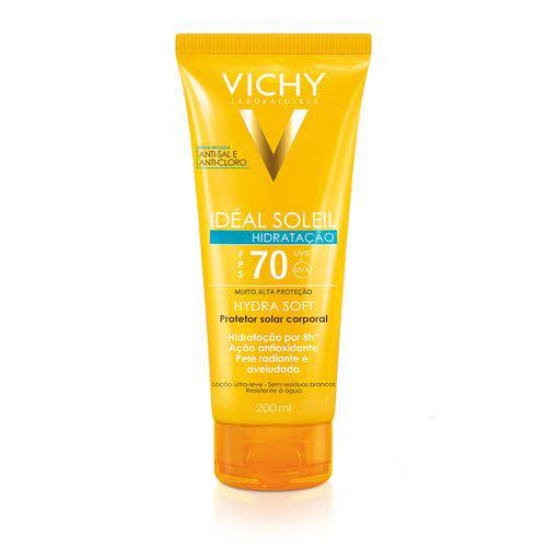 Tudo sobre 'Vichy Ideal Soleil Hydrasoft Hidratante Fps 70'
