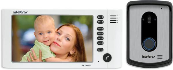 Video Intelbras Porteiro Iv 7010 Hf Branco