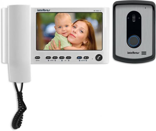Video Intelbras Porteiro Iv 7010 Hs Branco