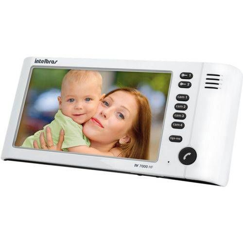 Video Port Iv 7010 Hf Branco Intelbras