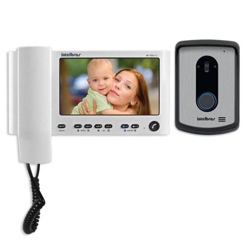 Vídeo Porteiro Intelbras Iv 7010hs Tela Lcd 7´´ com Monofone
