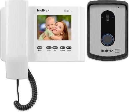 Video Porteiro IV 4010 HS Branco - Intelbras