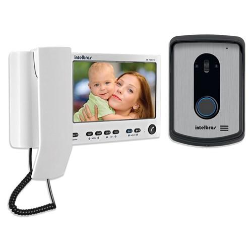 Vídeo Porteiro Lcd com Monofone Branco Iv7010 Hs Intelbras