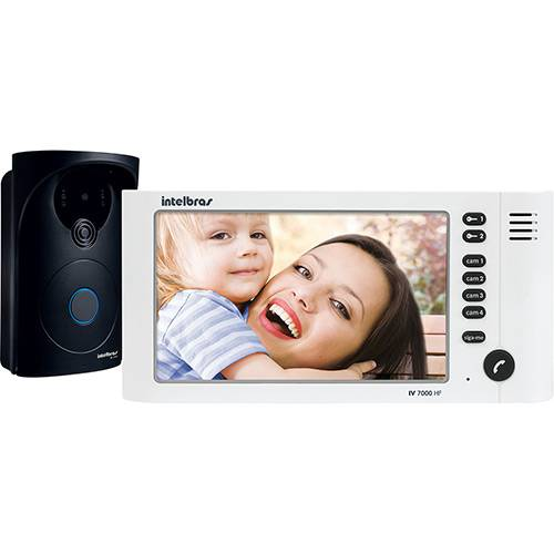 Videoporteiro com Viva Voz Intelbras IV 7000 HF