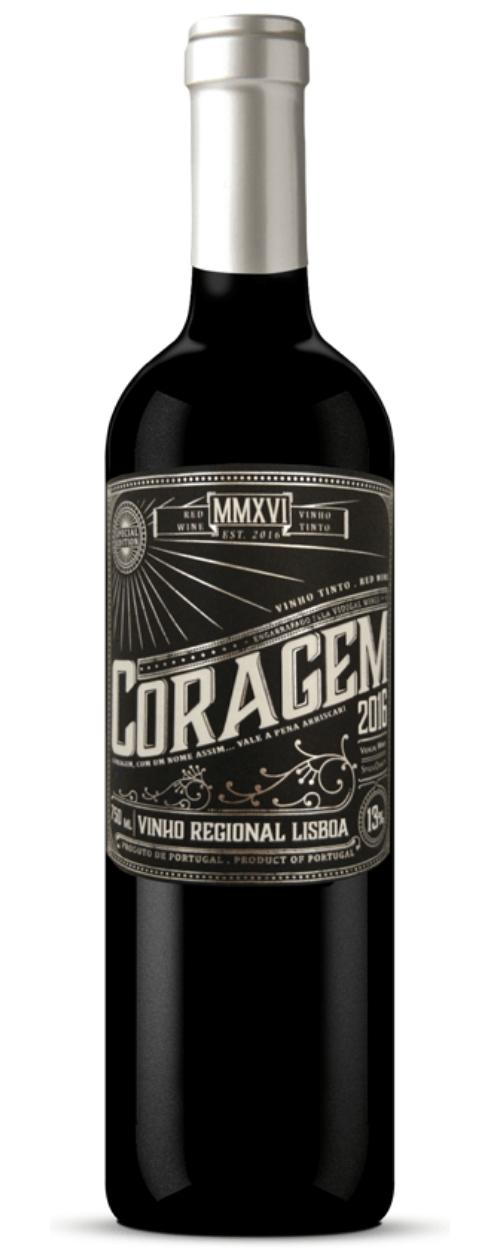 Vinho Coragem Tinto Portugal 750 Ml