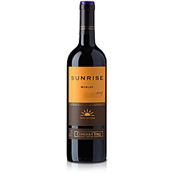 Vinho Tinto Chileno Sunrise Merlot 750ml