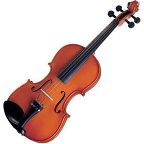 Violino 3/4 Tradicional com Arco e HardCase Michael