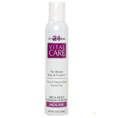 Tudo sobre 'Vital Care Mousse Mega Hold Mjaximum Control 21 Hours 340g'