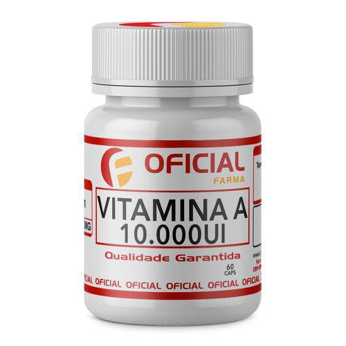Vitamina a 10.000Ui 60 Caps