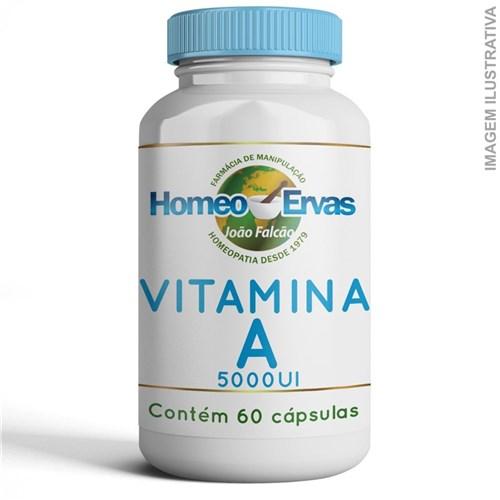 Vitamina a 5000Ui - 60 Cápsulas