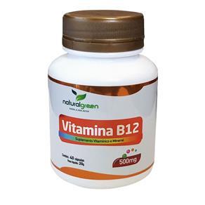 Vitamina B12 500mg com 40 Cápsulas