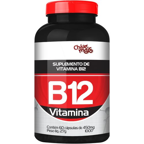 Vitamina B12 60 Cápsulas de 500mg