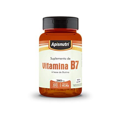 Vitamina B7 (60 Cápsulas) 280 Mg